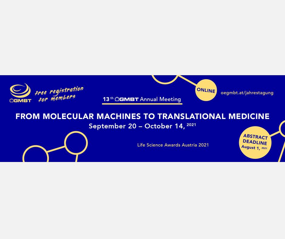 ÖGMBT Österreichische Gesellschaft für Molekulare BiotechnologieGe